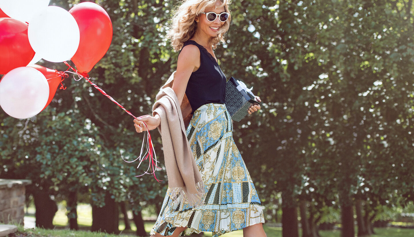 The Swishy Skirt | By Cotton Traders