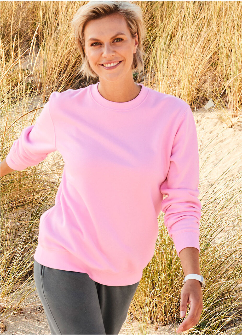 Comfort Collection Inspirations | Charisma Crew Neck Sweatshirt | By Cotton Traders