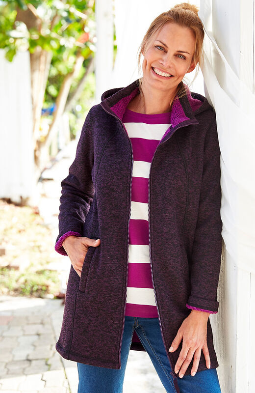 Ready For The Season | Bonded Fleece Jacket | By Cotton Traders