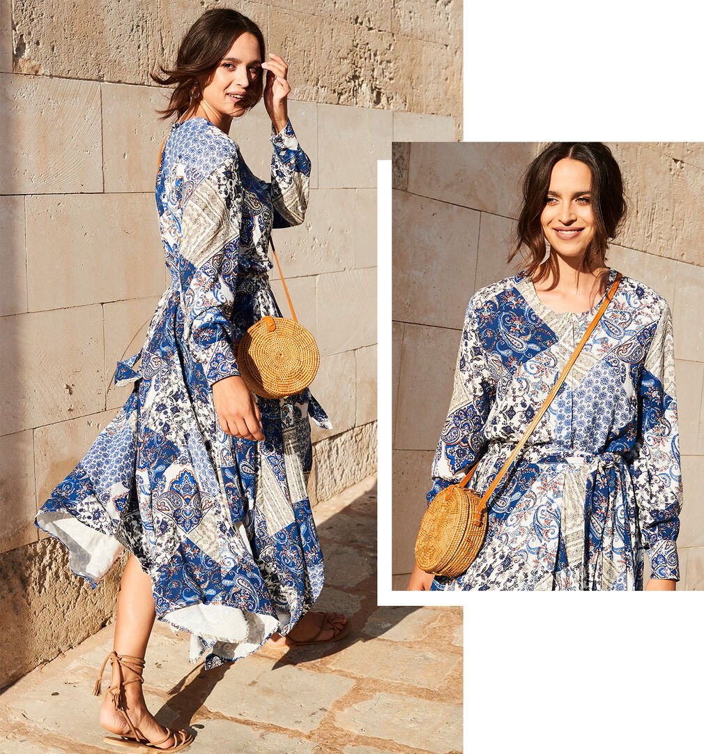 Spring Dresses Inspirations | Patchwork Dress | By Cotton Traders