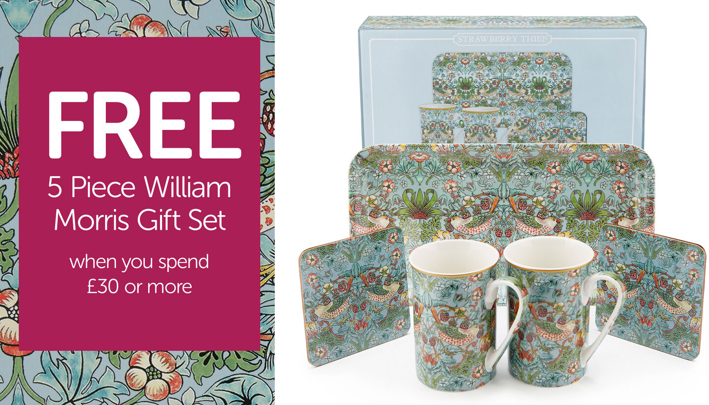 The William Morris Collection | By Cotton Traders