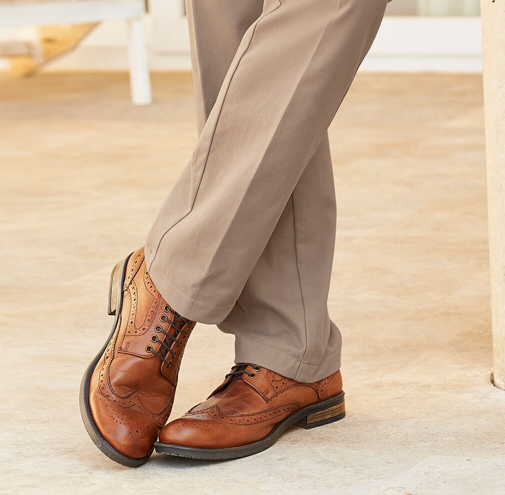 Fall Footwear | Men's Footwear | Leather Brogues | By Cotton Traders