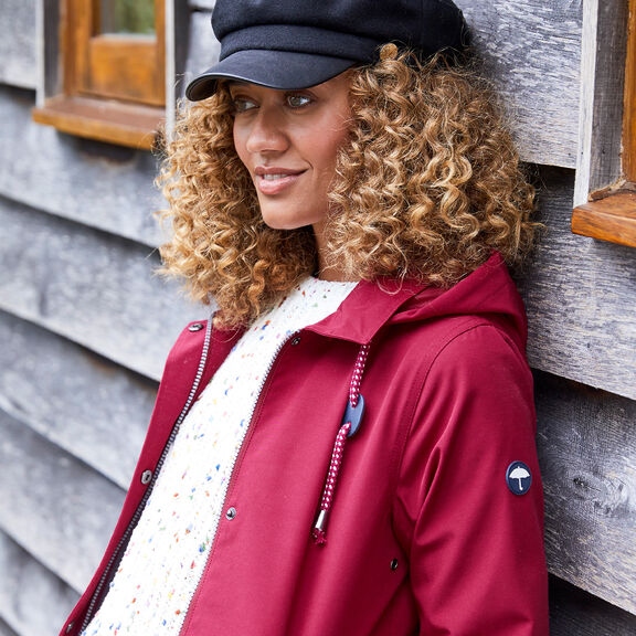 The Singing-in-the-rain Weatherproof Coat | By Cotton Traders