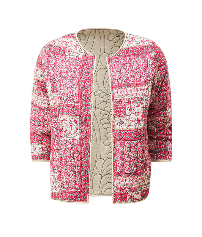 The Biker Jacket   Pointelle Jumper   By Cotton Traders