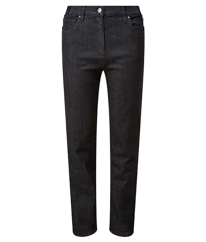 The Colourblock Jumper | Magic Comfort Straight Leg Jeans | By Cotton Traders