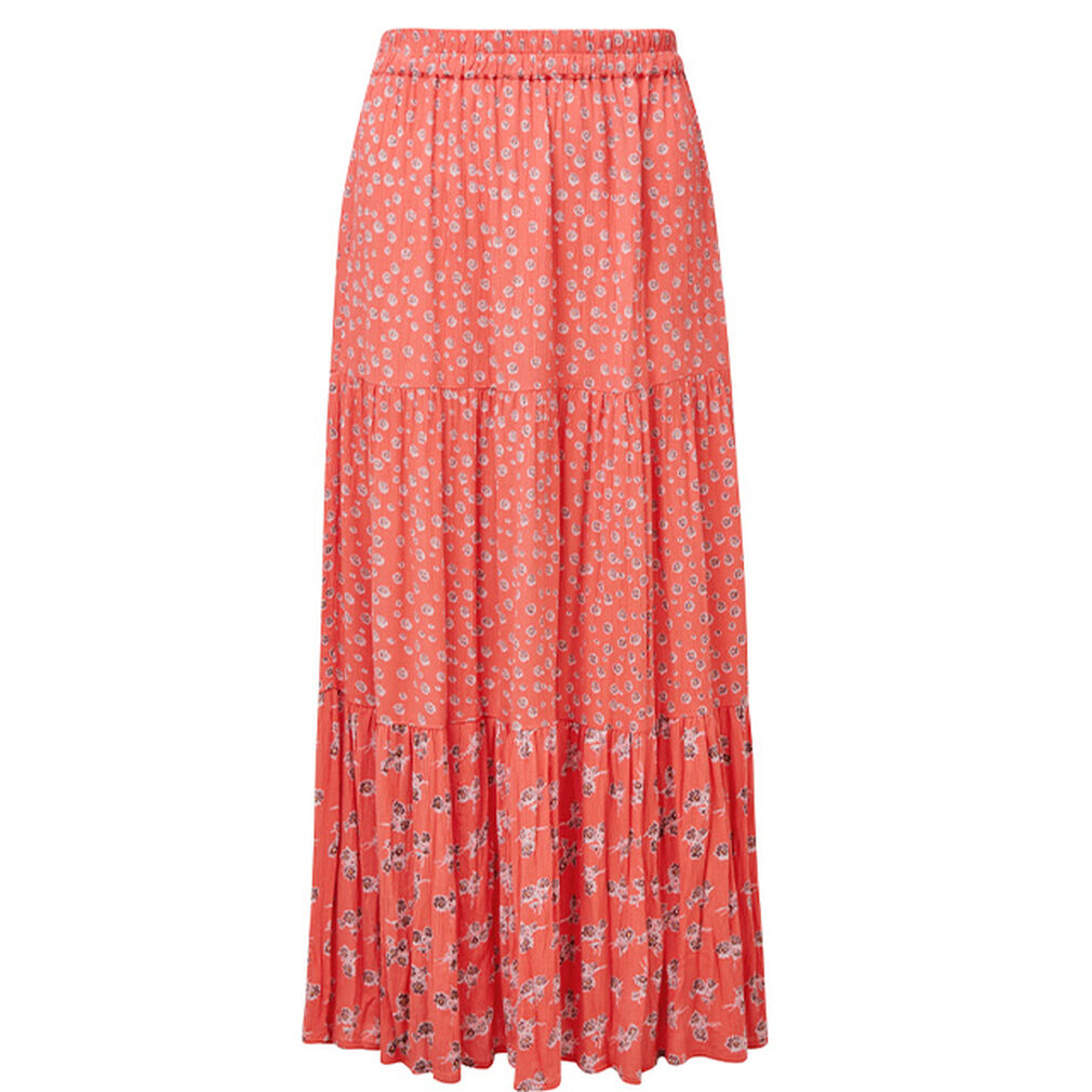 The Spring Collection | Tiered Floral Skirt | By Cotton Traders