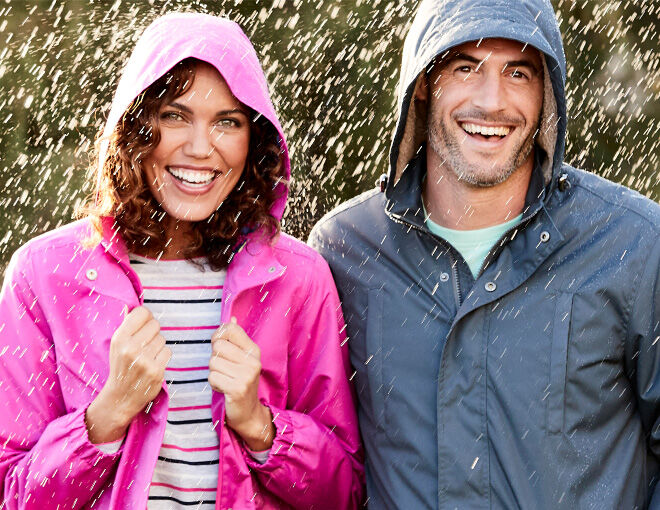 Inspire Me | Trending Categories | Waterproofs Collection | Lakeside Waterproof Coat | By Cotton Traders