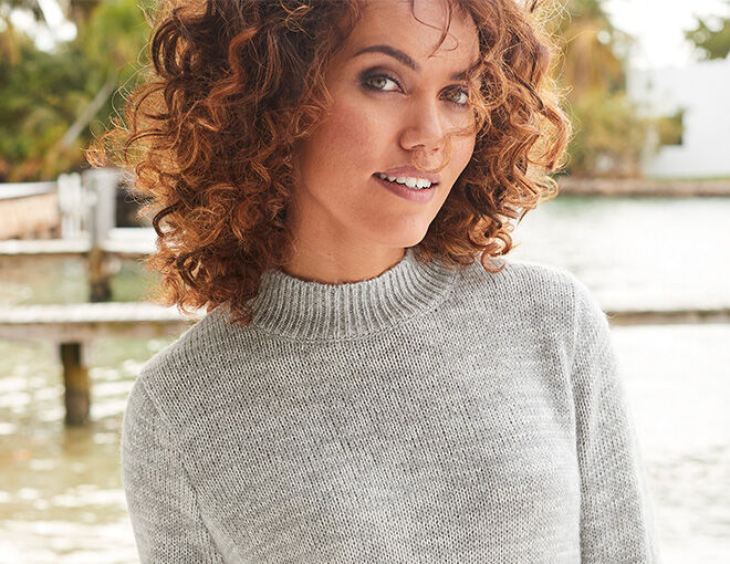 Inspire Me | Trending Categories | Women's Knitwear | Embroidered Sweater | By Cotton Traders