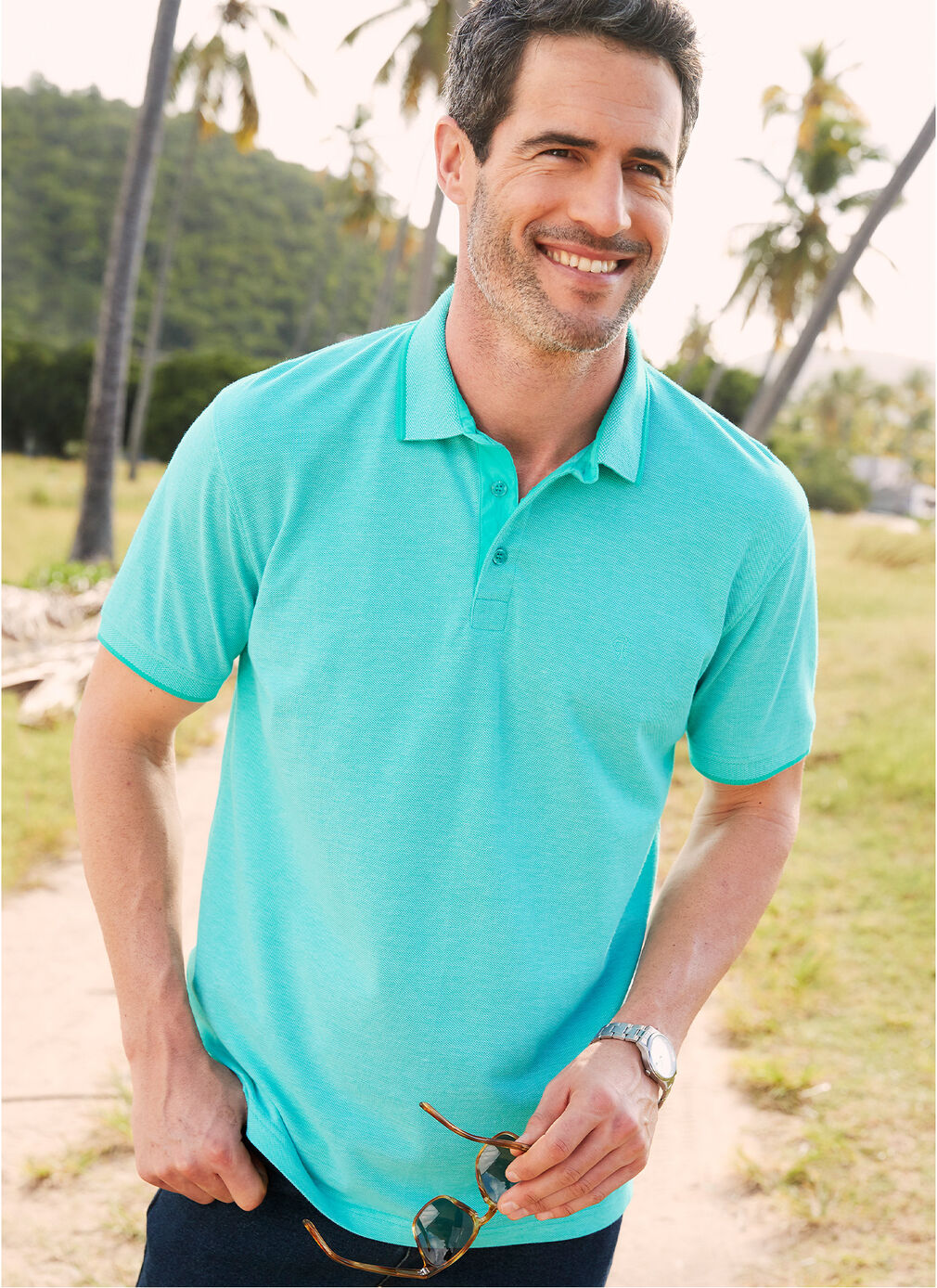 Comfort Collection Inspirations | Birdseye Polo Shirt | By Cotton Traders