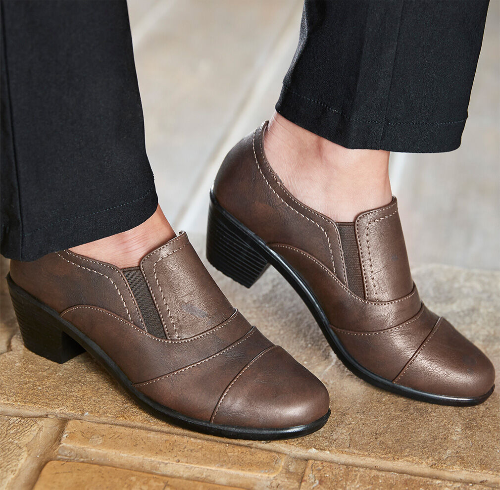 Fall Footwear | Pleat Detail Trouser Shoes | By Cotton Traders