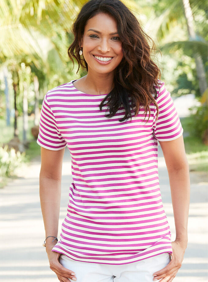 Comfort Collection Inspiration | Wrinkle Free T-Shirt | By Cotton Traders