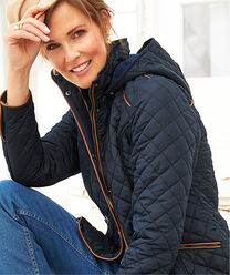 Inspire Me | Lighter Jackets | Fleece Lined Quilted Jacket | By Cotton Traders