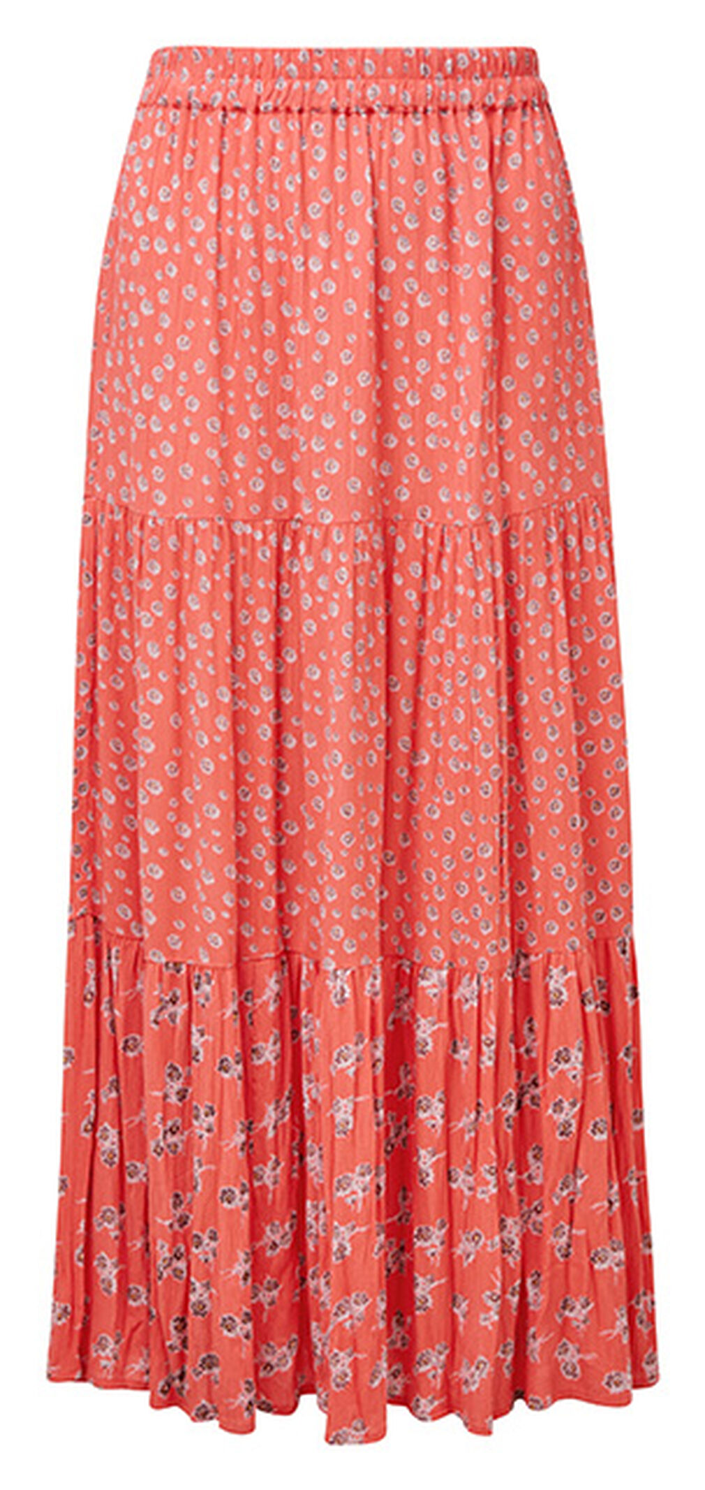 The Blissful Blouse | Tiered Floral Skirt | By Cotton Traders