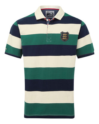 3 Lions Short Sleeve Stripe Rugby Shirt