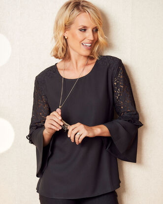 Sleeve Detail Blouse