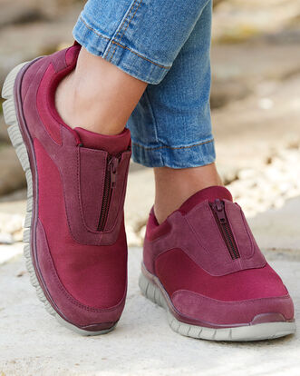Flexi Active Zip Sneakers
