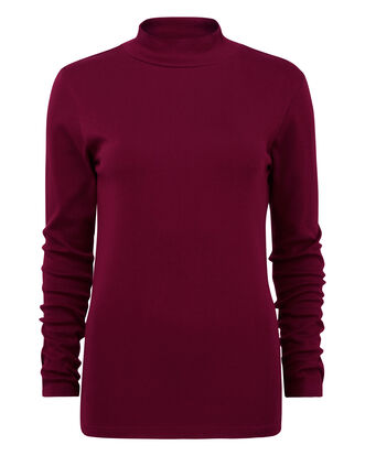 Wrinkle Free Turtle Neck Top