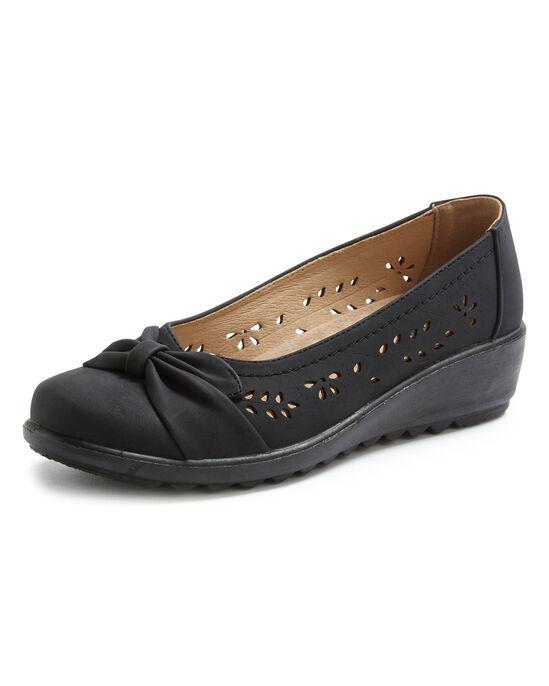 Flexisole Bow Trim Shoes