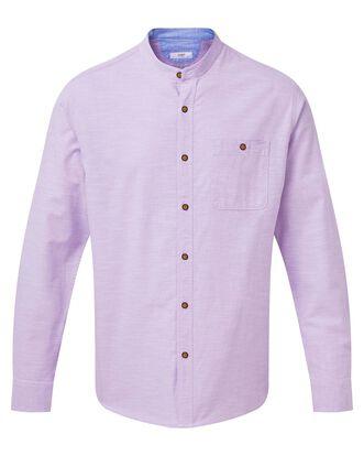 Long Sleeve Linen Look Shirt