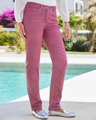 The Slim Leg Jeans (Twill)