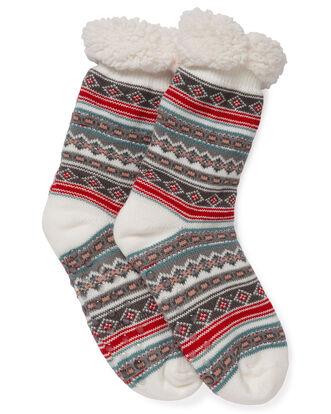 Fleece Lined Slipper Socks