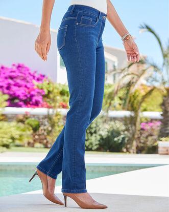 The Slim Leg Jeans (Denim)