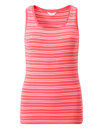 Wrinkle Free Stripe Tank Top