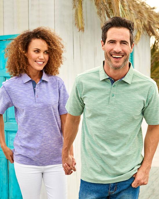 Luxury Textured Polo Shirt