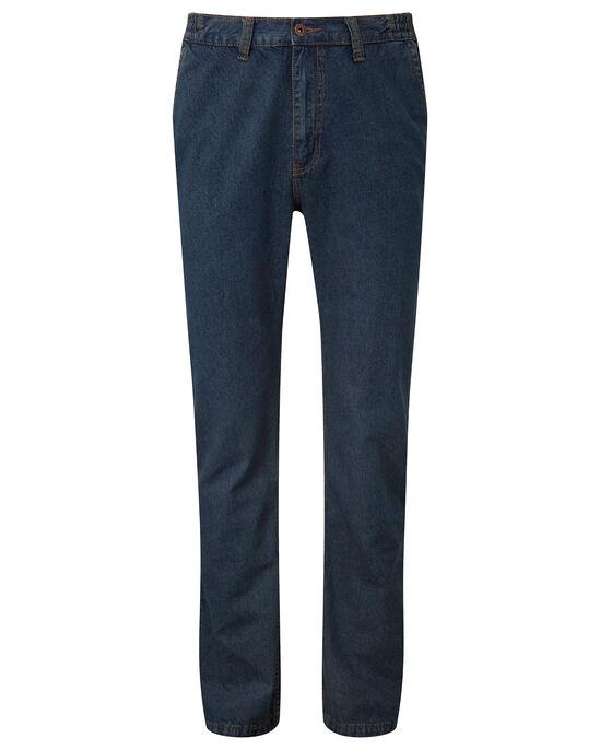 Side Elastic Jeans