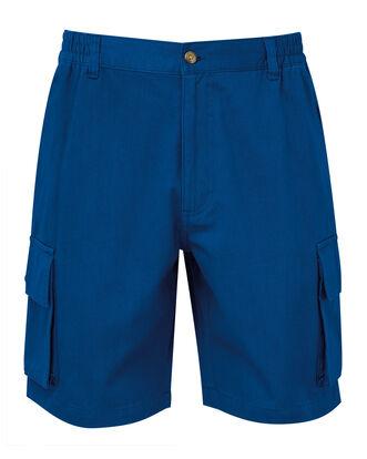 Deep Cobalt Cargo Comfort Shorts