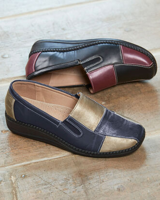 Flexisole Two Tone Loafers