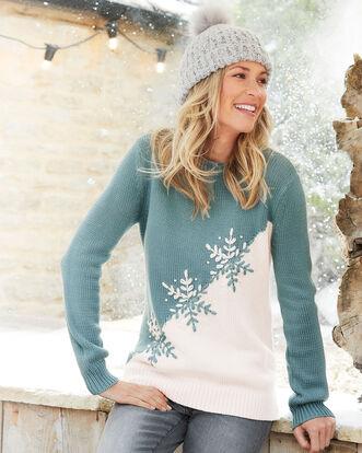 Snowflake Sweater