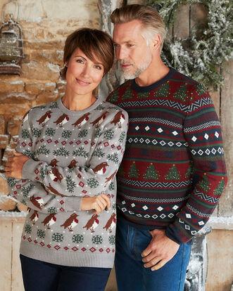 Crew Neck Christmas Sweater