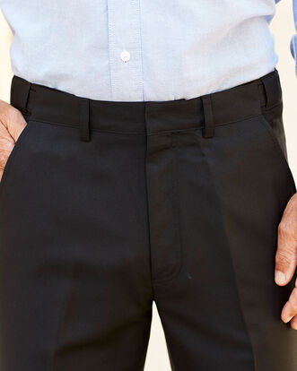 Flat Front Supreme Easy Care Pants