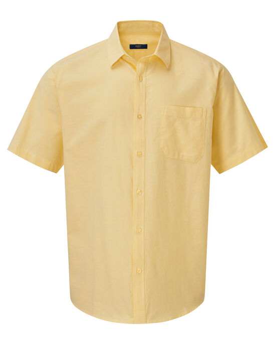 Short Sleeve Casual Oxford Shirt