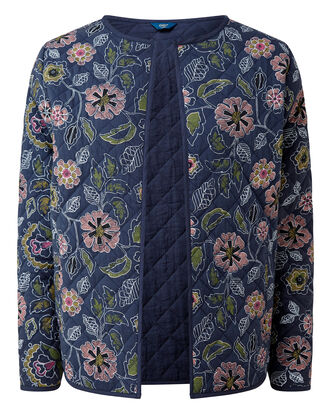 Floral Quilted Jacket