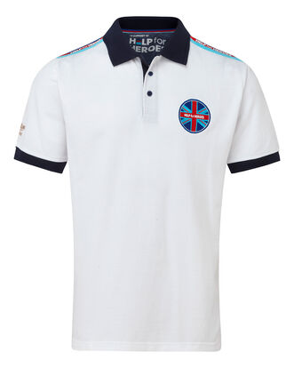 Help For Heroes Shoulder Tape Polo Shirt