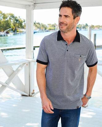 Guinness® Short Sleeve Pocket Polo Shirt