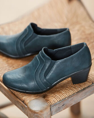 Heeled Elastic Pants Shoes