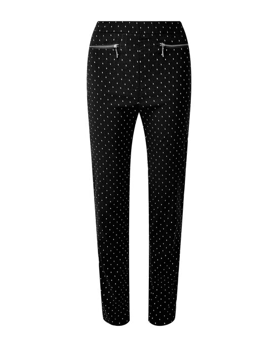 Super Stretchy Jacquard Pull-on Pants