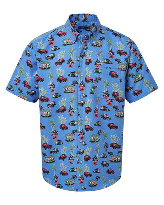 Car Soft Touch Print Shirt