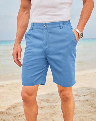 Flat Front Comfort Shorts