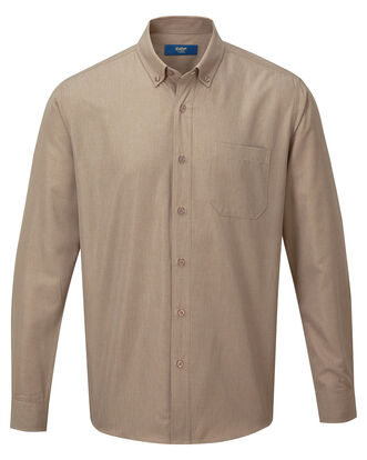 Dark Sand Long Sleeve Soft Touch Shirt