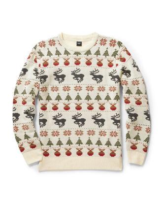 Crew Neck Holiday Sweater