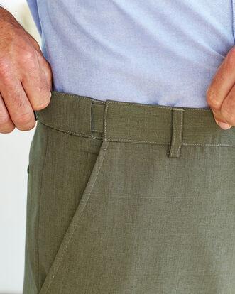 Flat Front Travel Pants