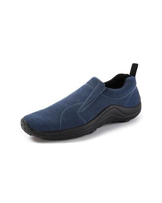 Lightweight Suede Slip-Ons