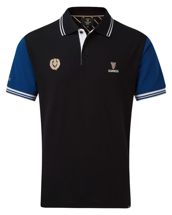 Guinness Short Sleeve Scotland Polo Shirt