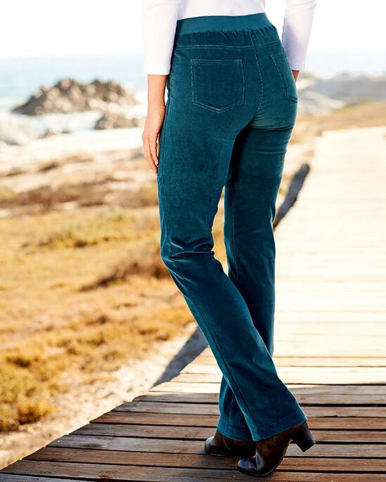 Tummy Control Cord Pants