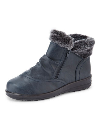 Flexisole Fur Cuff Boots