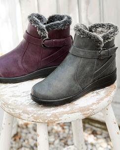 Flexisole Faux Fur Lined Boots